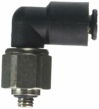 Legris 3189 04 19 Nylon & Nickel-Plated Brass Push-to-Connect Fitting, 90 Degree
