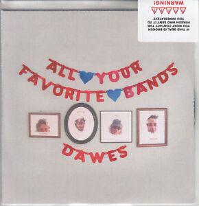 DAWES All Your Favourite Bands 2015 UK numbered #2 9-trk promo test CD sealed