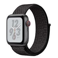 NEW, SEALED! Apple Watch 4 44mm Space Gray Alum/Black NIKE+ Sport Band GPS + CEL
