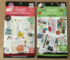 The Happy Planner Set Of 2 Happy Planner Memory Keeping Sticker