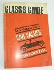 Old Glass'S GUIDE dei prezzi per i veicoli commerciali Novembre 1969.