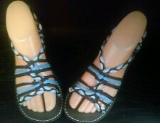 Color rope sandal