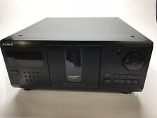 Sony Cdp-Cx225 Cd Changer 200 Multi Disc Player Carousel Broken For Parts