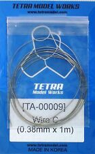 TETRA MODEL WORKS 1/35th Scale Braided Wire C 0.38mm x 1m Item TA9