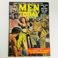 Men Today Magazine April 1961 Keep The Kid Killers Off The Road, No Label