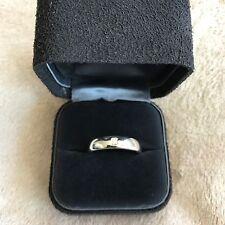 TIFFANY & CO PLATINUM LUCIDA RING - 6MM WEDDING BAND  RETAIL  $4000