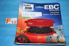 2 plaquettes de frein Avant EBC Yamaha YZ WR 125 250 490 TT 250 S 350 600 N
