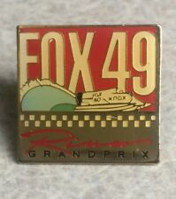 FOX 49 Hydro Racing Lapel Hat Pin ~ Grand Prix