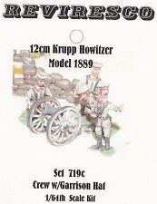 Krupp 12 cm Haubitze M1889 - mit Besatzung Garnison - Zinnbausatz 1:64 - OVP
