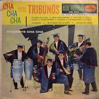 Los Tribunos students Cha cha cha latin mexico lp ex