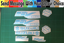 SV650 Decal/ Sticker Pack -- ALL COLOURS AVAILABLE --  SV 650  SV1000 SV650s