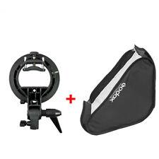 GODOX 60cmx60cm softbox S-Type Bracket Bowens S Mount Holder+Bag for flash