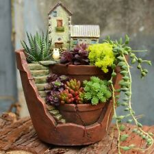 Sky Garden Succulent Plants House Herb Flower Pot Basket Planter Home Decor