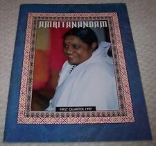 Amritanandam First Quarter 1997 Vol. XII No. 1 Mata Amritanandamayi Ammachi Amma