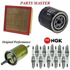 Tune Up Kit Filters Spark Plugs For FORD F-550 SUPER DUTY V10 6.8L 2014