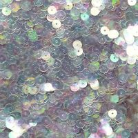 6mm Sequins Premium Mirror Crystal Iridescent Reflective. Made in USA