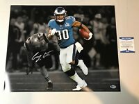 Corey Clement Autograph Signed Eagles Super Bowl LII 16x20 Framed Photo Beckett