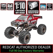 Redcat Racing Everest 10 1/10 Scale Rock Crawler 2.4Ghz Red Rc Remote Control