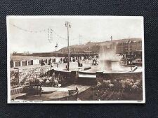 Photochrom Postcard Douglas I.O.M. , The Fountain 79945 - PCBOX1
