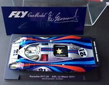 FLY Martini Porsche 917LH LE MANS 24h. 1971 slot car - Hand signed by VIC ELFORD