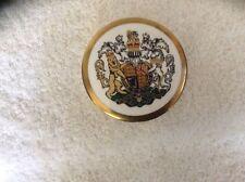 COALPORT Trinket Box - Queen Elizabeth II Silver Jubilee1977