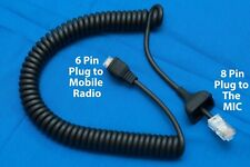 Replacement Cable 6pin Rj-45 for Kenwood Tk-7150/7160/7180/730/740 /750/752/760