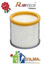 Filtro hepa ricambio per bidoni aspiracenere ribitech ribimex lavabile con rete