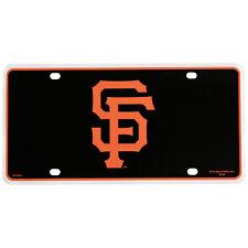 SAN FRANCISCO GIANTS LASER CUT CAR TAG LICENSE PLATE LOGO SIGN BASEBALL MLB