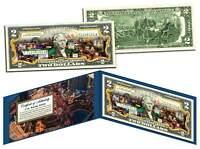 LAS VEGAS Nevada * Hotel - Casino - Strip * Colorized Legal Tender U.S. $2 Bill