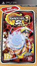 Naruto Ultimate Ninja Heroes 2 PSP Game NEW