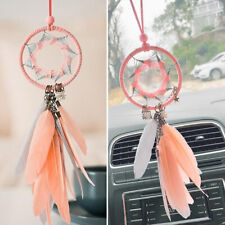 1pc Car Rear View Mirror Hanging Decoration Dreamcatcher Car Pendant Accessories