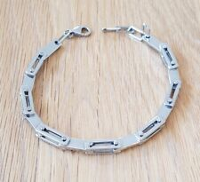 Stainless Steel articulated bracelet (unisex) excellent quality.