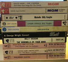 10 X Prerecorded Reel To Reel Tapes Lot MGM Dot Richmond