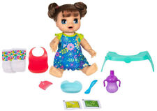 Baby Alive Happy Hungry Baby Doll - Brunette Straight Hair Kid Toy Gift