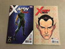 2x X-MEN RED 5; CHAREST HEADSHOT VARIANT Tom Taylor Mahmud Asrar Marvel Namor
