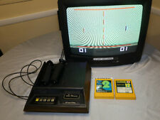 Fairchild Channel F Video Entertainment System w/2 games TESTED WORKING RESTORED