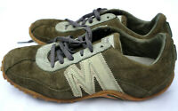 Merrell Womens Sz 6 EU 36 SprintBlast Suede Leather Java/Sage Athletic Shoes 4-8
