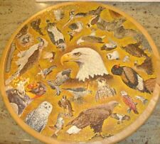 Vintage Springbok BIRDS OF PREY Circular Puzzle  1969  Complete & Excellent