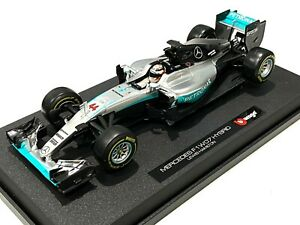 Bburago 1:18 Formula F1 Mercedes AMG 44# Lewis Hamilton Model Racing Car 18001LH