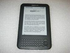 "Amazon Kindle Keyboard 3, 3G + Wi-Fi, 6"" 4GB, D00901 3rd Generation"