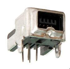 Presa FireWire 4 Pin IEEE 1394, printmontage 90 ° Assmann tipo: a-iee-m4p, 2st.