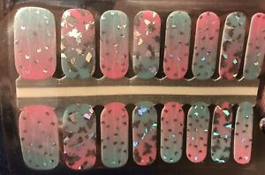Color Nail Polish Strips, 16ct. LIMITED HOLO BUTTERFLY please Read Description