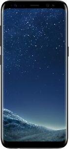 Samsung Galaxy S8 SM-G950U CDMA Android Smartphone - Black/64GB/Verizon