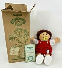 Cabbage Patch Kids Preemie Doll Birth Certificate Pacifier with Box Coleco