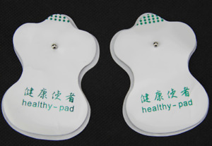20x White Electrode Pads For Tens Acupuncture Digital Therapy Machine Massager