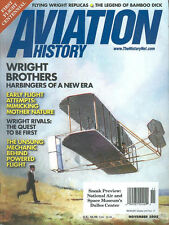 AVIATION HISTORY NOV 03 WRIGHT BROTHERS CENTENNIAL SPECIAL ISSUE KITTY HAWK 1903