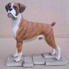 SHERRATT & SIMPSON - BOXER DOG STANDING - SIGNED B. SNELSON