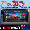 7 Inch Nissan Navara D22 97-14 GPS Navigation Sat Nav DVD Bluetooth USB Stereo
