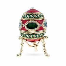 1914 Mosaic Royal Russian Egg 2.6 Inches