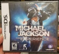 NEW/SEALED NINTENDO DS MICHAEL JACKSON THE EXPERIENCE RATED E 10+